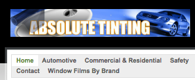 Absolute Tinting Logo