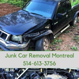 junk car removal montreal black
