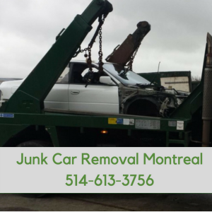junk car removal montreal demolisj