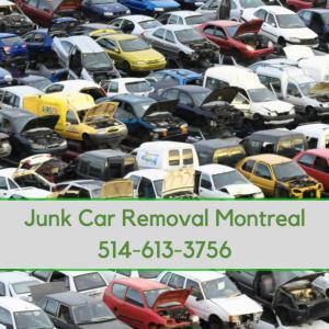 junk car removal montreal car lot