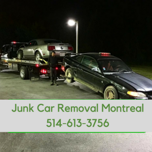 junk car removal montreal removal