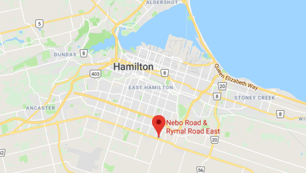 Window tinting shop in hamilton ontario offering a special $50 off deal map to location