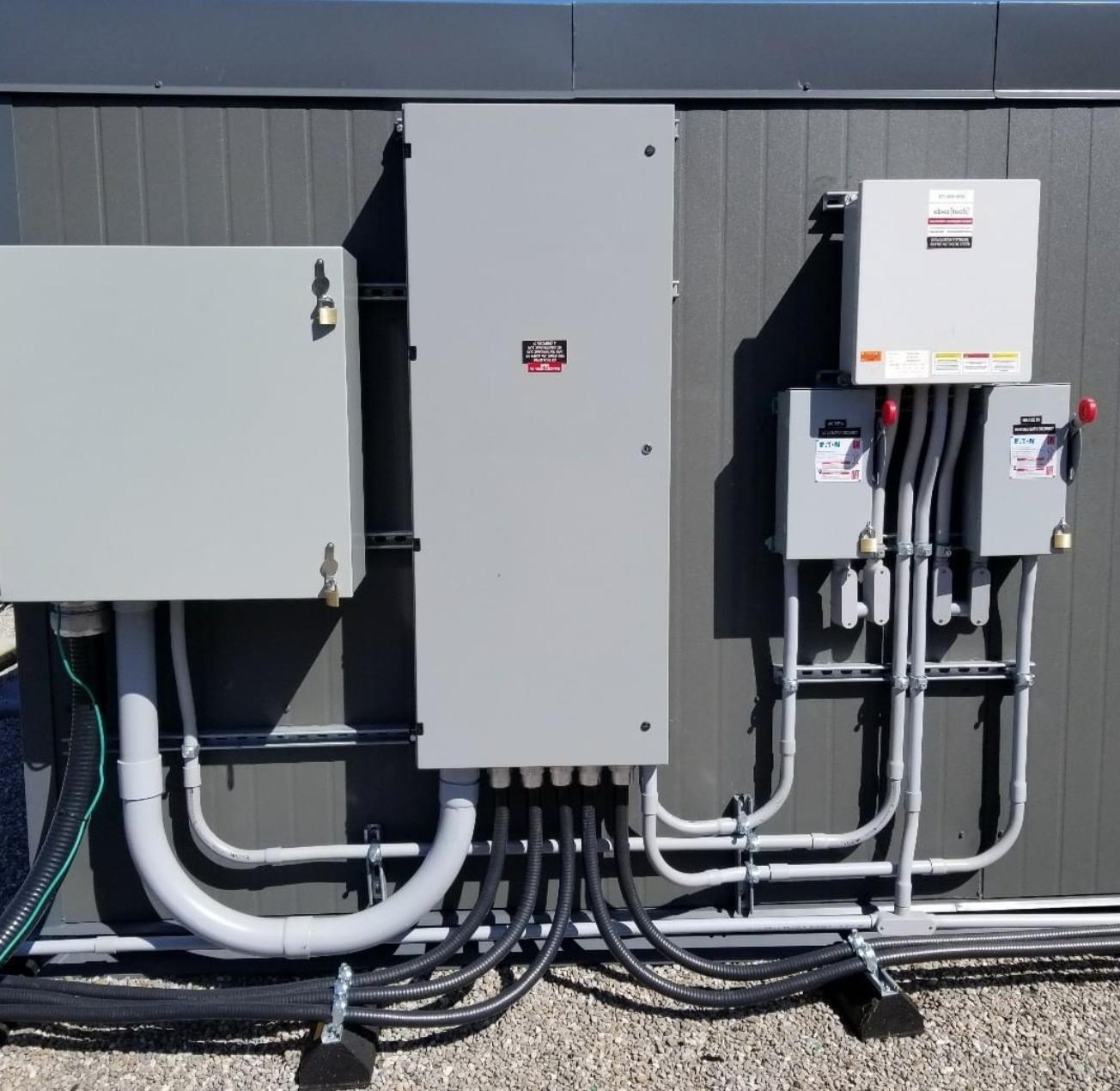 commercial breaker electrical work