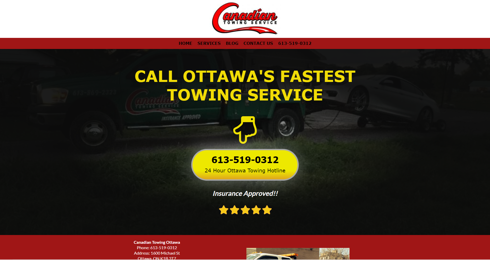 canadian towing ottawa